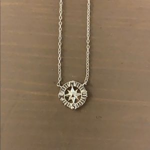 Jewelry - Compass Necklace Sterling Silver NWOT